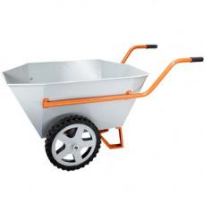 Тачка строительно-садовая Gruntek Профи 2-200 Kapro (200 л, 400 кг) (297200400)