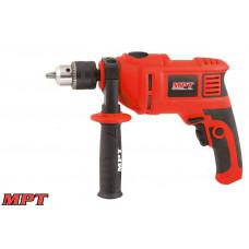 Дрель MPT ударная 13 мм, 800 Вт, 0-3000 об/мин, 48000 уд/мин
