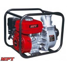 Мотопомпа MPT бензиновая 4-х тактная 5200 Вт/7 л.с., 212 см. куб., вход/выход 50 мм, 28 м. куб/час