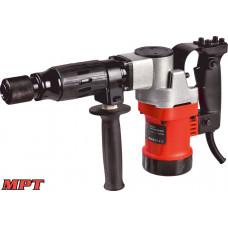 Молоток отбойный MPT PROFI 1100 Вт, 10 Дж, 3000 уд/мин, HEX 17, 2 стамески, металлический кейс