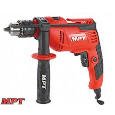 Дрель MPT ударная 13 мм, 710 Вт, 0-2800 об/мин, 44800 уд/мин