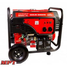 Генератор бензиновый MPT PROFI 5,5 кВт, 389 см3, возд.охл., эл.+ручной стартер, бак 25 л.,