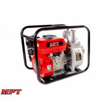 Мотопомпа MPT бензиновая 4-х тактная 5200 Вт/7 л.с., 212 см. куб., вход/выход 80 мм, 60 м. куб/час
