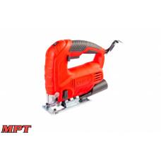 Лобзик MPT электрический 600 Вт, 80/8 мм, 800-3000 об/мин, аксес.4 шт.
