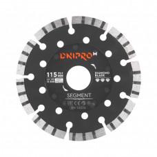 Алмазный диск DNIPRO-M 115 22,2, Segment (Б/У)