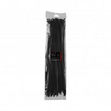 Хомут пластиковый чёрный DNIPRO-M (100шт/уп) 4,8x400 мм