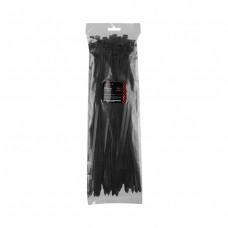 Хомут пластиковый чёрный DNIPRO-M (100шт/уп) 7,6x350 мм