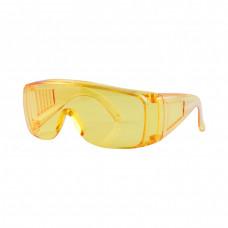 Очки защитные DNIPRO-M Expert (anti-fog, static, UV) желтые