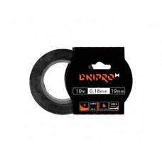 Изоляционная лента DNIPRO-M, черная, PVC, 0.18 мм х 19 мм 10 м (Б/У)