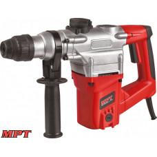 Перфоратор MPT SDS plus 26 мм, 1050 Вт, 930 об/мин, 4500 уд/мин, 4.5 Дж, 3 режима, аксессуары 5 шт, кейс