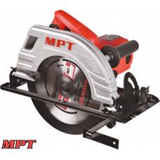 Пила циркулярная MPT PROFI 2200 Вт, 235*25,4 мм, 4500 об/мин, пропил 85 мм, 45-90*, аксесс. 2 шт