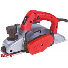 Рубанок MPT электрический PROFI 650 Вт, 82*2 мм, 16500 об/мин, аксесс. 4 шт, кейс