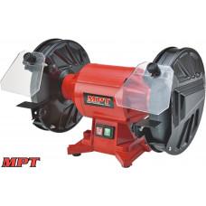 Точильная машина MPT PROFI 200*12,7 мм, 370 Вт, 2950 об/мин, медная обмотка