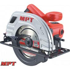 Пила циркулярная MPT PROFI 1380 Вт, 185*20 мм, 5300 об/мин, пропил 65 мм, 45-90*, аксесс. 2 шт