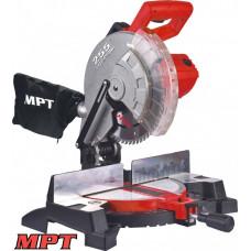 Станок торцовочный MPT для дерева PROFI 2200 Вт, 255*25.4 мм, 4500 об/мин, платформа 0-45*