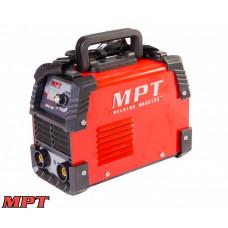 Сварочный аппарат MPT инверторного типа 20-140 А, 1.6-3.2 мм, аксесс. 7 шт