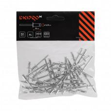 Заклепки алюминиевые DNIPRO-M50 шт. 4,8 х 8 мм