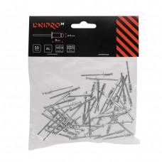 Заклепки алюминиевые DNIPRO-M50 шт. 4 х 8 мм