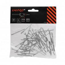 Заклепки алюминиевые DNIPRO-M50 шт. 4 х 12,7 мм