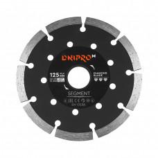 Алмазный диск DNIPRO-M 125 22,2, Segment (Б/У)