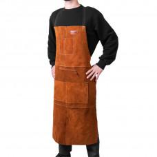 Фартук сварщика DNIPRO-M, Ultra, кожаный, 106 см (Б/У)