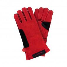 Перчатки DNIPRO-M для сварки усиленные, с подкладкой, красно-черные, 14р.