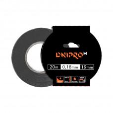 Изоляционная лента DNIPRO-M, синяя, PVC, 0.18 мм х 19 мм 20 м