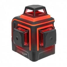 Лазерний рівень DNIPRO-M ML-412R, червоний, 12 пром., чохол