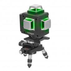 Лазерний рівень DNIPRO-M ML-716G, зелений, 16 пром., пласт. кейс