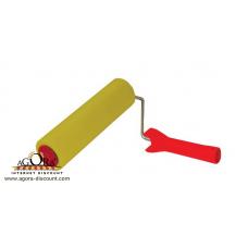 Валик прижимной резиновый БРИГАДИР Standart, 8*250