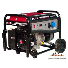 Генератор бензиновый SENCI SC6000-М 5.0-5.5кВт р.с.