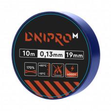 Изолента DNIPRO-M Синяя 10м x 19мм x 0,13мм