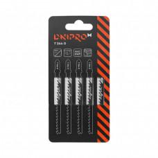 DNIPRO-M Пильное полотно для лобзика Т 244 D